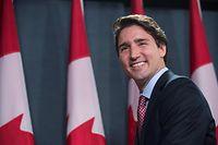Justin Trudeau hatte erst nach längerem Zögern kandidiert.