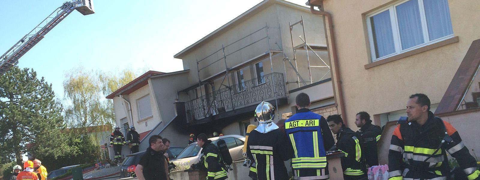 Bei dem Brand wurde niemand ernsthaft verletzt.