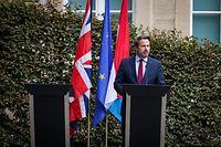 Visite de Boris Johnson au Luxembourg  - Xavier Bettel - Foto: Pierre Matgé/Luxemburger Wort