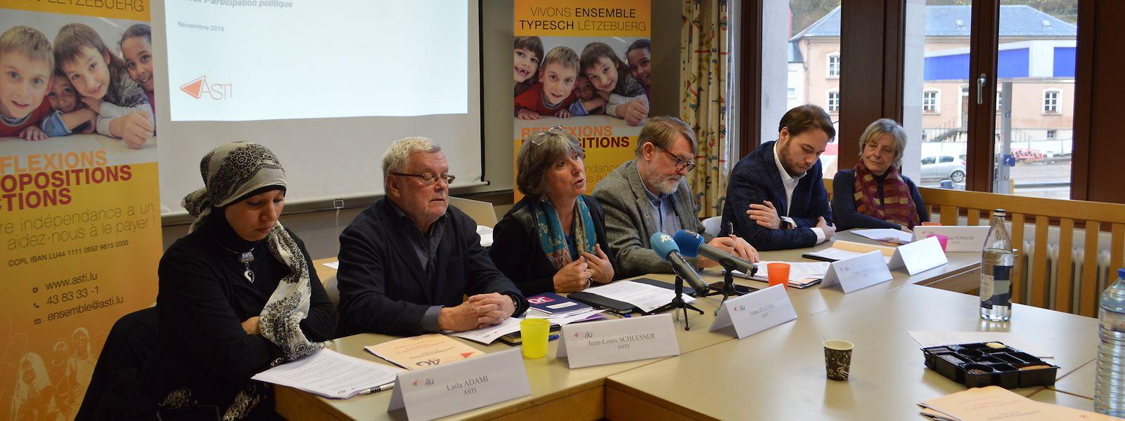 L'Asti a présenté ce jeudi les résultats du volet «Participation politique et nationalité» de son sondage sur le «Vivre-ensemble au Luxembourg». D'autres communications suivront en 2020.