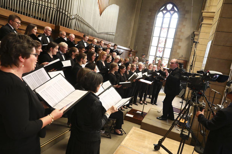 Die Maîtrise der Kathedrale zeichnete für die musikalische Begleitung verantwortlich.