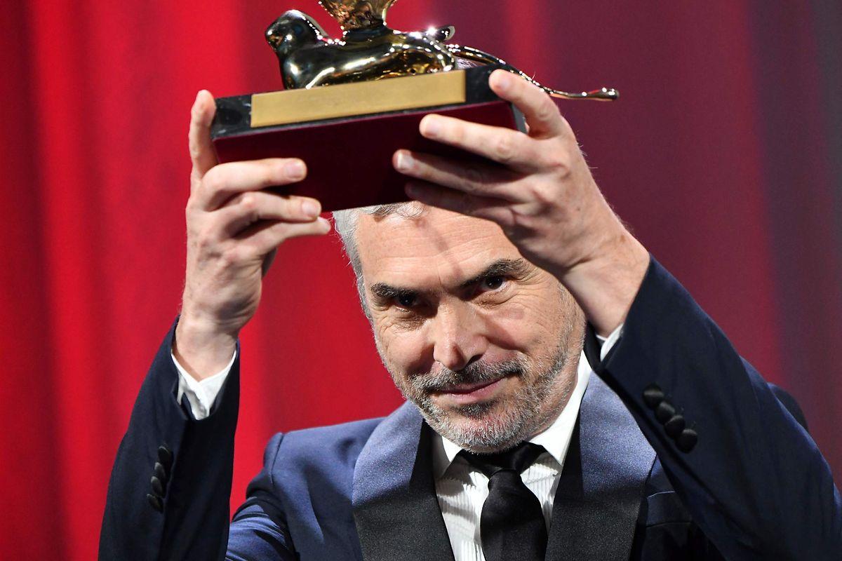 Alfonso Cuaron: «Ce prix est le témoignage de mon amour pour toi Liba, et pour mon pays».