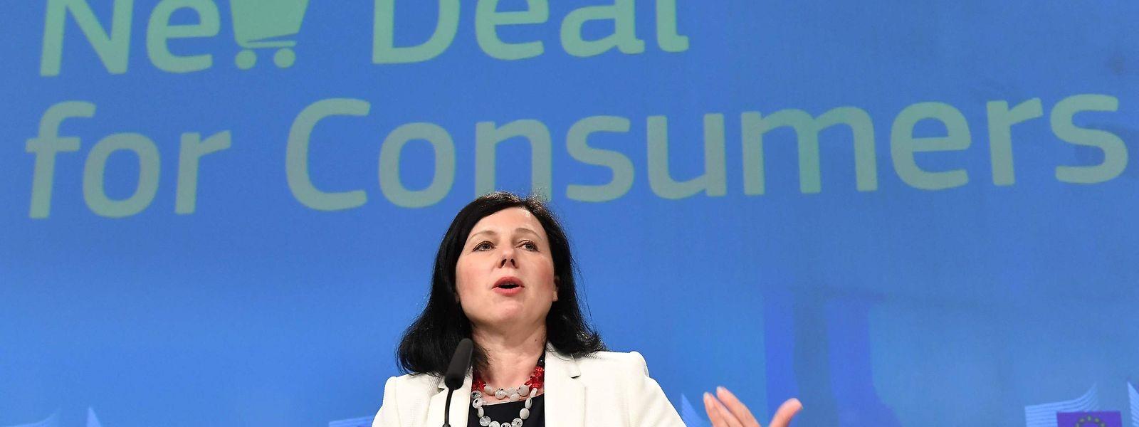 """EU-Justizkommissarin Vera Jourova: """"Betrügen darf nicht billig sein."""""""
