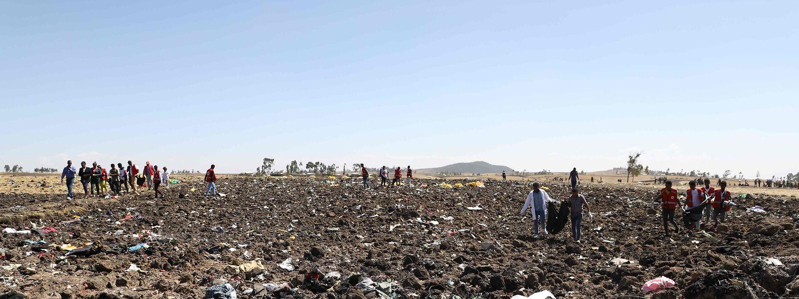 In dem Ethiopia Airlines Absturz am 10. März 2019 kamen 157 Menschen ums Leben.