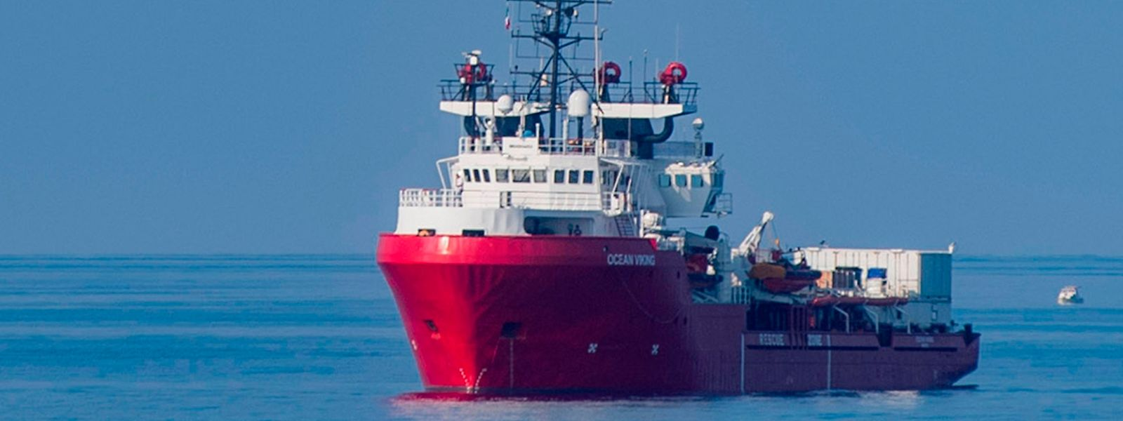 "Das private Rettungsschiff ""Ocean Viking"" (Archivfoto)."