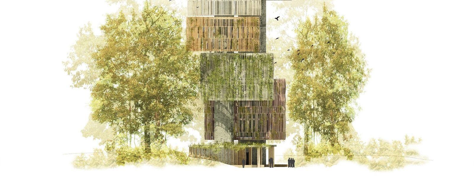 Le futur château d'eau mesurera 50 mètres de haut et disposera d'une capacité de 1.000 mètres cubes.