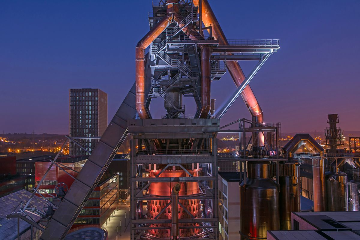 The blast furnaces of Belval Photo: Shutterstock