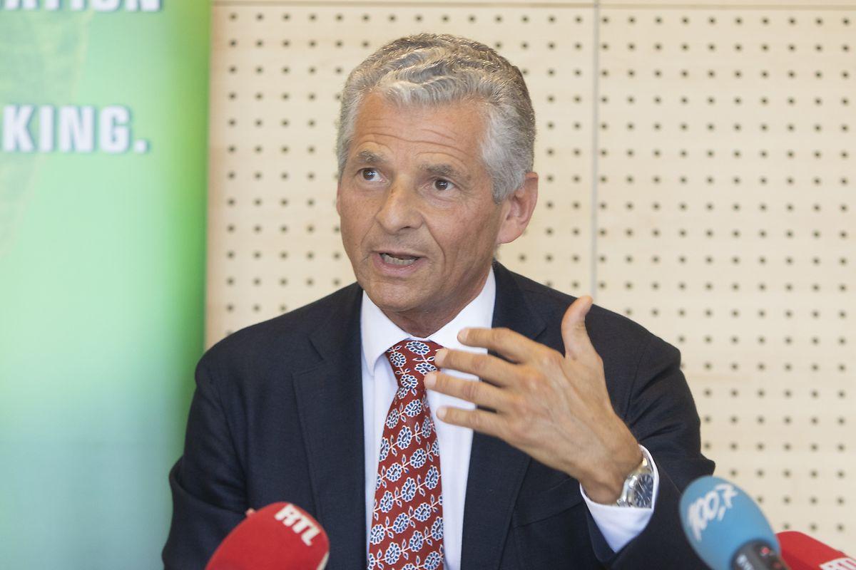 Edwin Eichler, Vorsitzender des Aufsichtsrats der SMS group