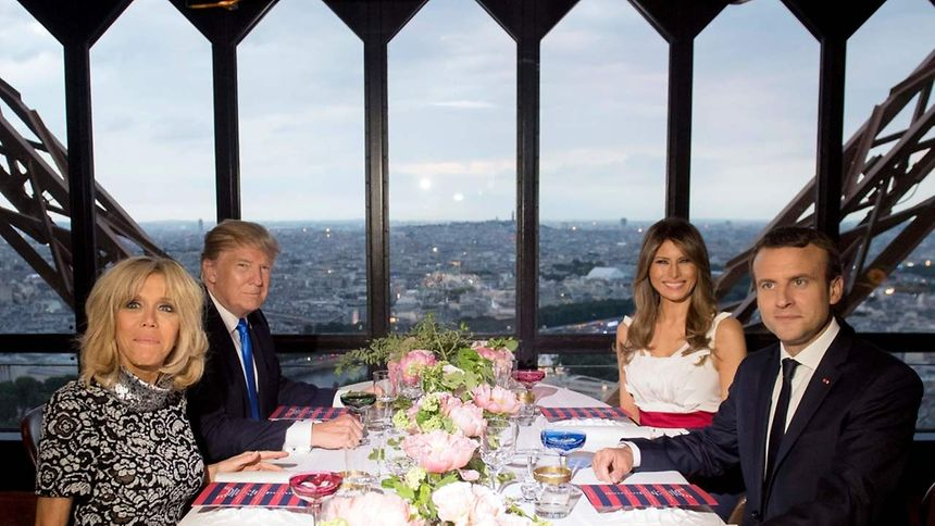 Emmanuel Macron et Donald Trump : un