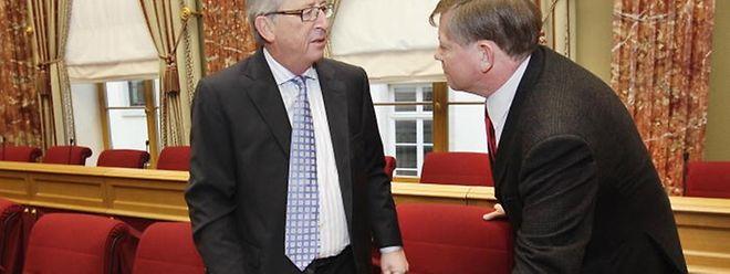 """Von der """"Geste"""" Junckers heute im Parlament wollen die Sozialisten es abhängig machen, ob sie nach möglichen vorgezogenen Wahlen eine Fortsetzung der Koalition mit Jean-Claude Juncker in Erwägung ziehen werden."""