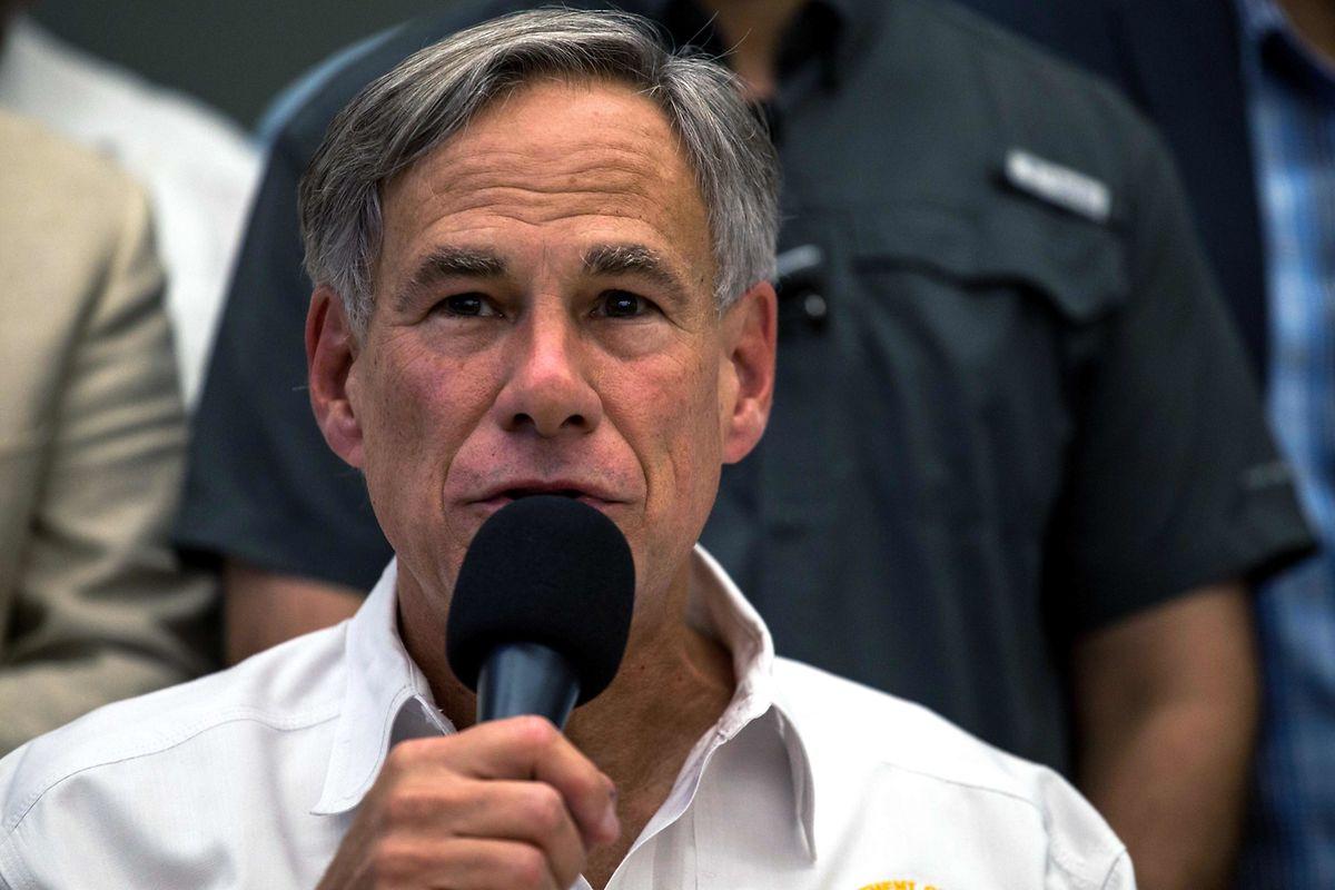 Der Gouverneur von Texas, Greg Abbott.