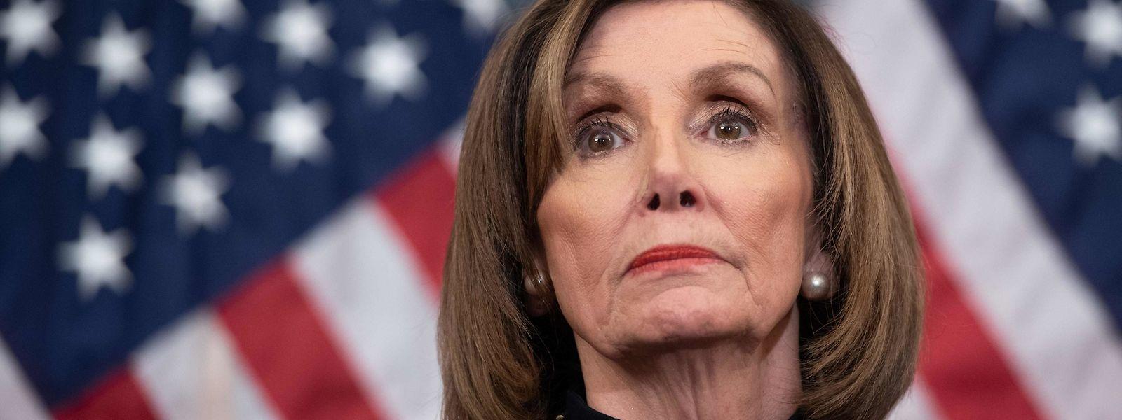 Die Sprecherin des US-Repräsentantenhauses, Nancy Pelosi.