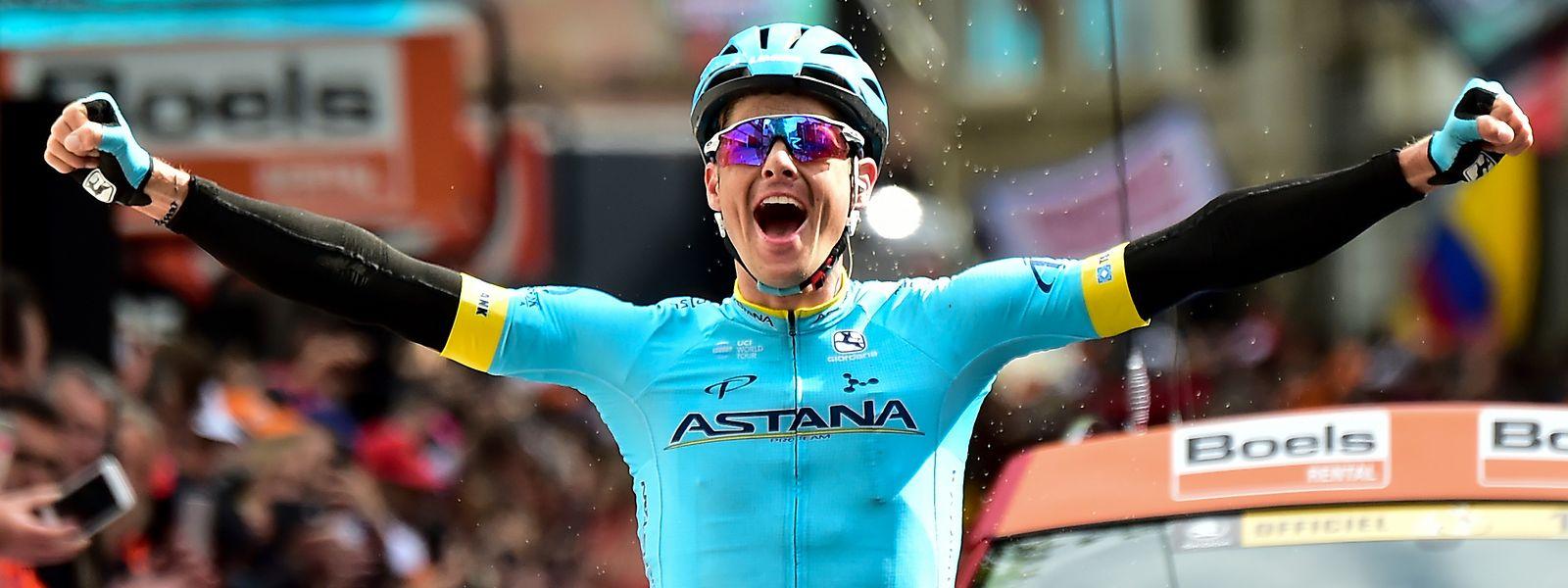 Jakob Fuglsang sicherte sich im vergangenen Jahr den Sieg beim Klassiker Liège-Bastogne-Liège.