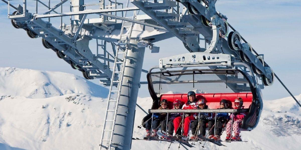 Das Skigebiet Madrisa bei Klosters wird ab diesemWinter von einer neuen Sesselbahn erschlossen.