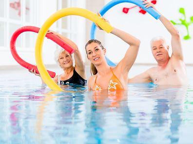 Ausreichend Bewegung ist für Menschen in jedem Alter wichtig.
