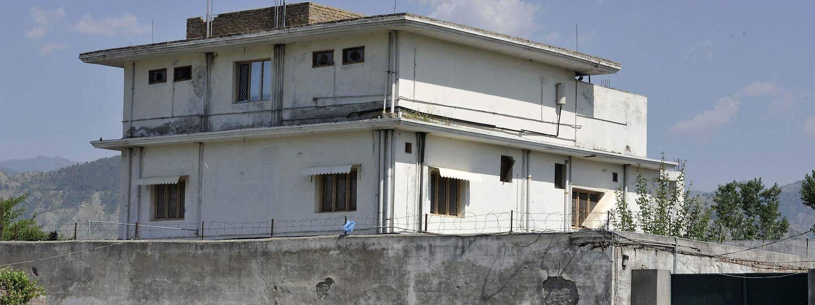 In diesem Haus im pakistanischen Abbottabat hielt sich Terrorist Osama bin Laden jahrelang versteckt.