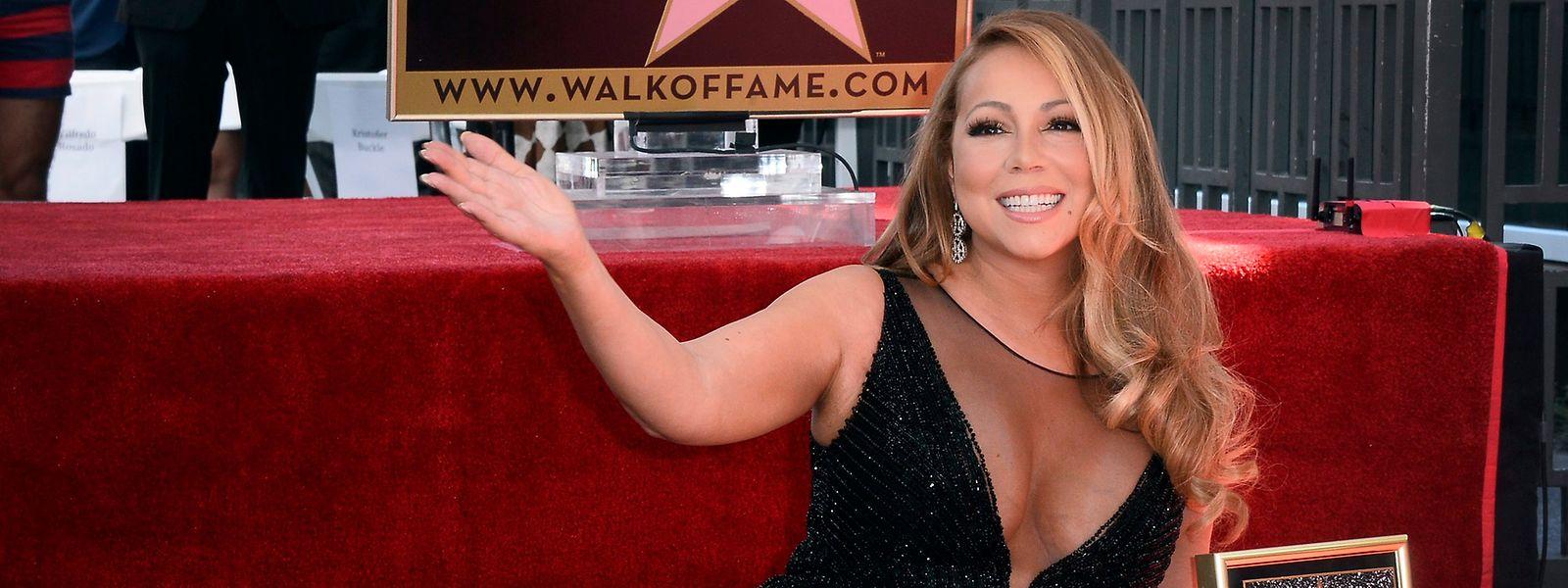 Auch auf dem Walk of Fame ist US-Sängerin Mariah Carey mit einem Stern vertreten.