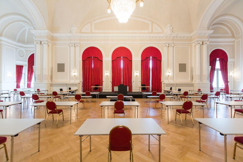 Die Chamber im Cercle Cité.