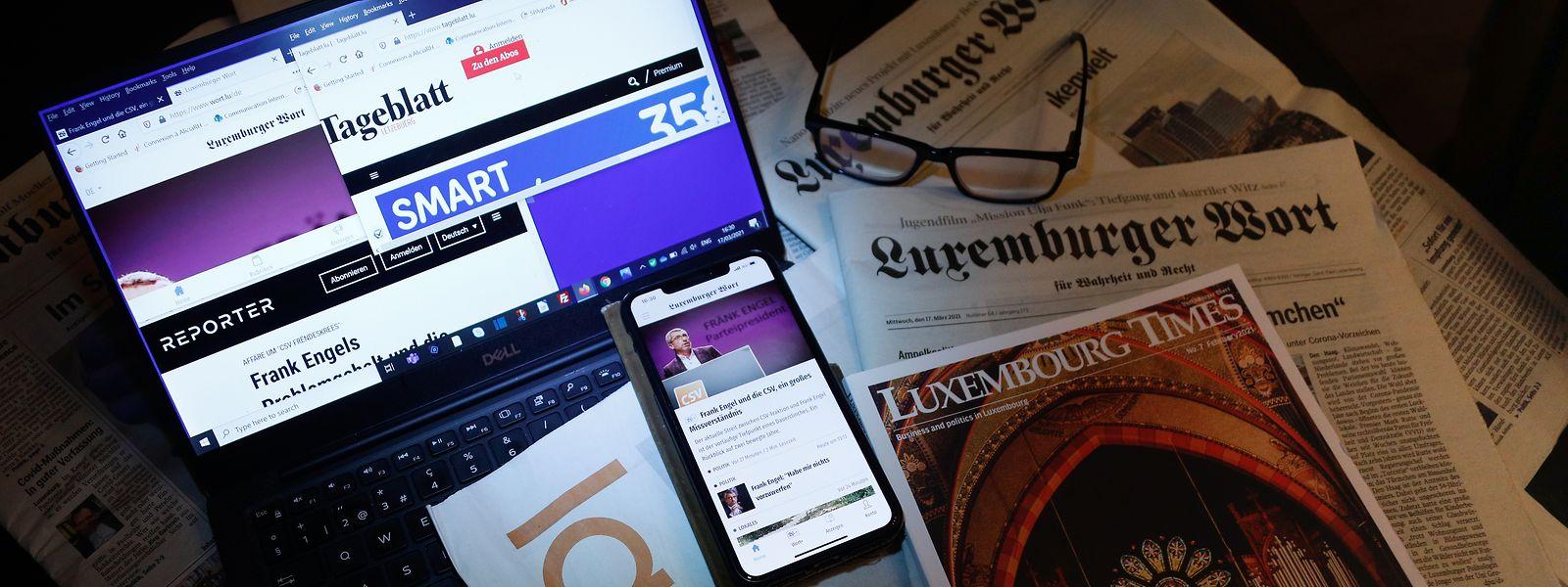 Le nouveau régime d'aide à la presse ne satisfait pas entièrement l'ALJP qui craint de nombreux effets pervers d'un texte pourtant voué à mettre sur un pied d'égalité médias print et online.