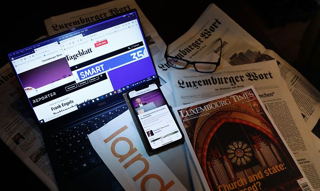 Luxembourg newspapers, magazines and news websites