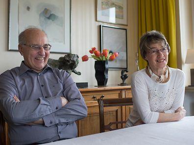 Néckel und Gaby Strotz-Krier feiern ihre goldene Hochzeit im Kreis der Familie.