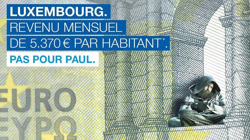 La campagne affirmant que le revenu mensuel par habitant est de plus de 5.000 euros par mois suscite de vives réactions sur les réseaux sociaux.