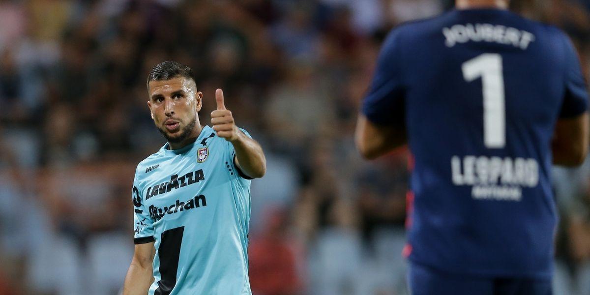 En quatre matches européens avec le F91, Aniss El Hriti a déjà pris ses marques avec ses partenaires dudelangeois.