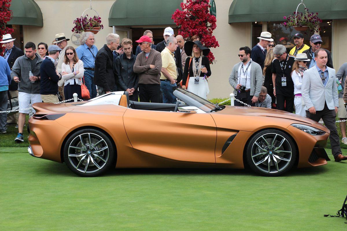 BMW zeigte im Rahmen des Concours d'Elegance eine Studie, die bereits sehr konkret auf die nächste Generation des Roadsters Z4 blickt.