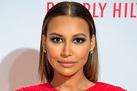 "(FILES) This file photo taken on April 15, 2016 shows actress Naya Rivera posing as she attends the 23rd Annual Race To Erase MS Gala in Beverly Hills, California. - ""Glee"" star Naya Rivera is missing and feared drowned at a California lake, local officials said, with rescuers to continue a search for her on July 9, 2020. (Photo by VALERIE MACON / AFP)"