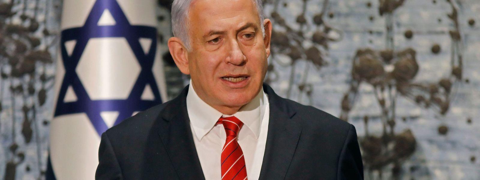 Israels Regierungschef Benjamin Netanjahu.