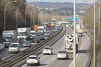 Verkehr A4, auto, Autobahn, foto: Chris Karaba/Luxemburger Wort