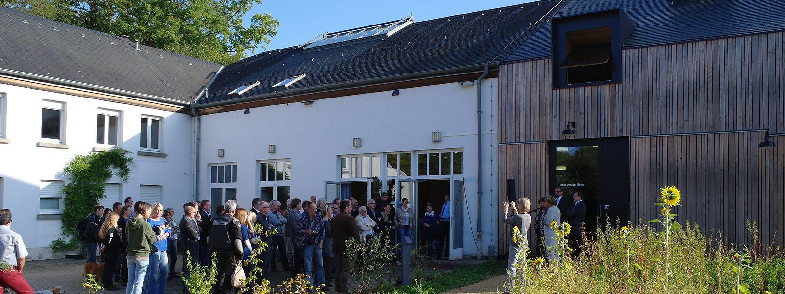 """1994 wurde das """"Haus vun der Natur"""" eingeweiht."""