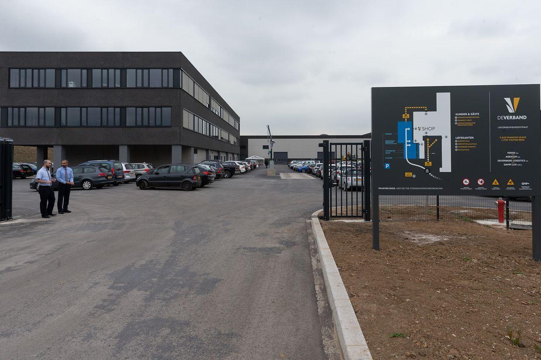 Das Agrarzentrum wurde auf einem 8,7 Hektar großen Gelände in der nähe des Fahrsicherheitszentrums gebaut.