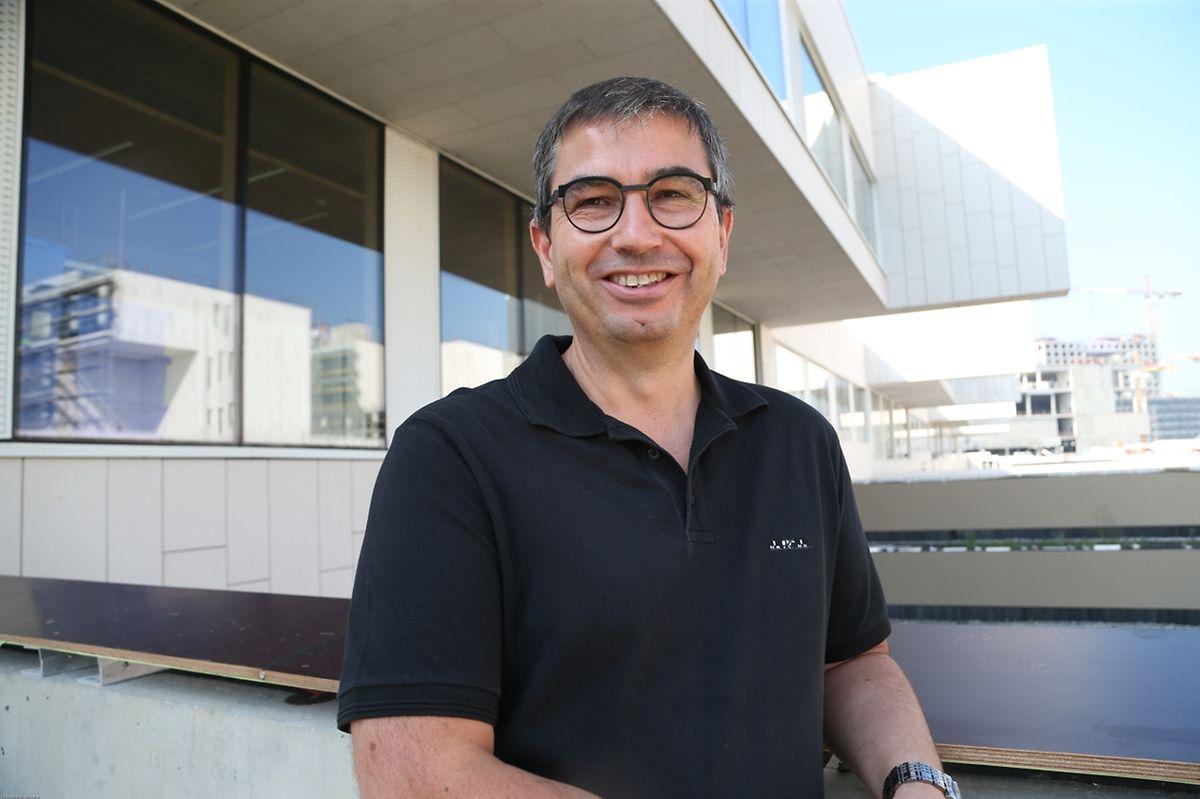 Bruno Lorrain, directeur exécutif: «En cette rentrée on livre quasiment 50% de tout le chantier» du campus de Gasperich.