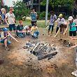 """Die FNEL verabschiedet sich traditionell mit dem """"Pow-Wow"""", einer großen Scoutskirmes, in die Sommerferien. In diesem Jahr zog es die Gruppen aus dem ganzen Land nach Mamer."""