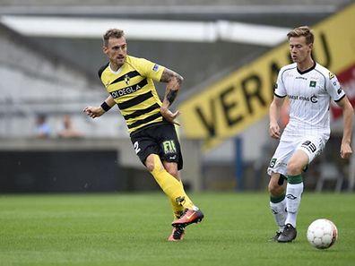 Aurélien Joachim a disputé toute la rencontre contre Waasland-Beveren mais le Lierse s'est incliné à la dernière minute.
