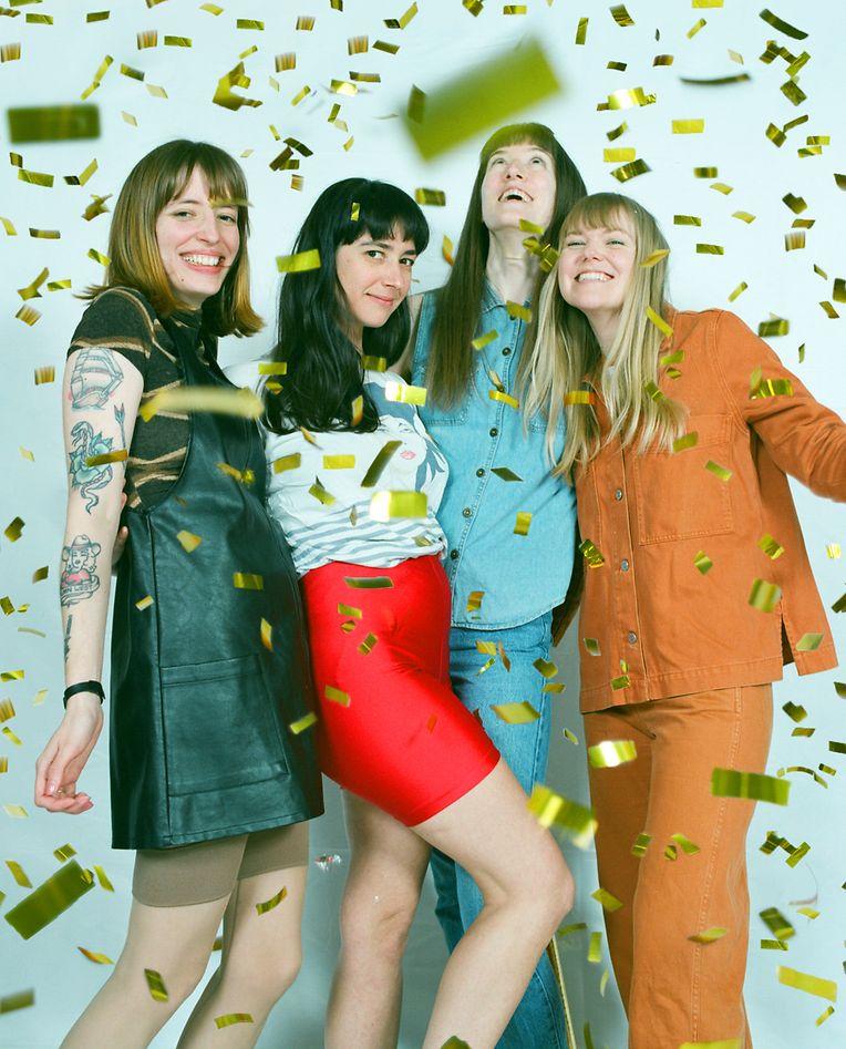 Los Bitchos aus London, eine Frauen–Band, die zum Festivalabschluss Rockmusik mit Tequila-getränkten Einflüssen aus Südamerika in den Rotondes präsentieren wird.