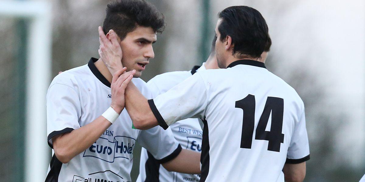 Fabio Barbosa, en inscrivant quatre buts, a été le héros de Junglinster contre Schifflange.
