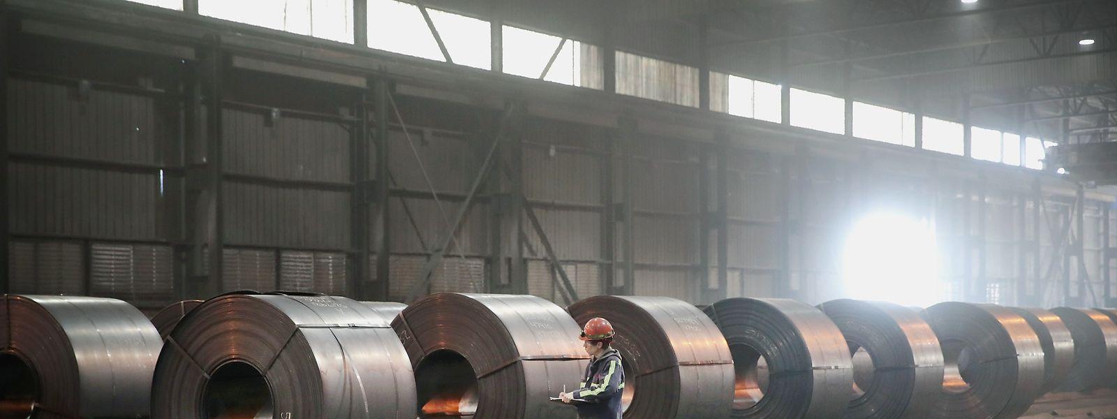 Die Strafzölle auf Aluminium und Stahl sollen am Freitag in Kraft treten.