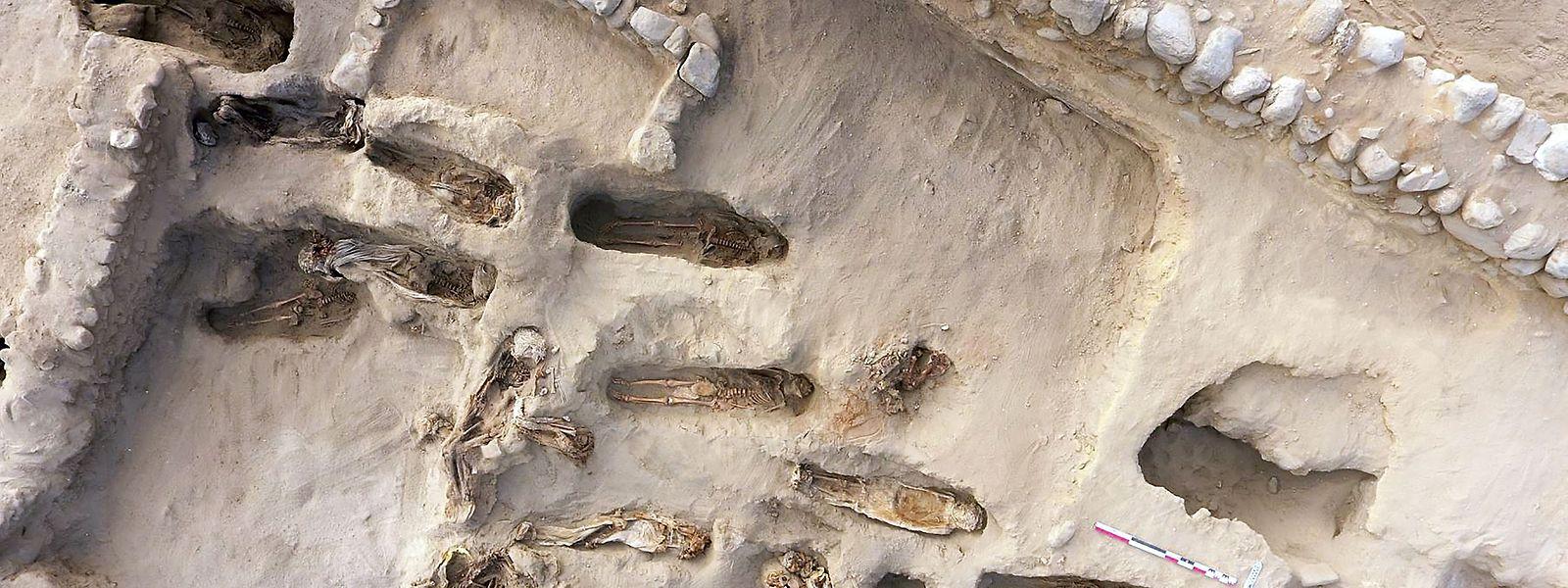 Laut dem Forscherteam könnte es sich bei dem Fund um die weltweit größte Begräbnisstätte für rituelle Kinderopfer handeln.