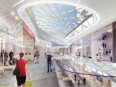 Schon über eine Million Quadratmeter Ladenfläche hat der Luxemburger Einzelhandel. Im Ban de Gasperich entsteht mit dem neuen Auchan weitere Fläche.