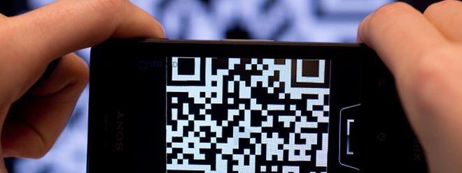 Hinter den viereckigen Pixeln der QR-Codes können beliebige Informationen stecken.