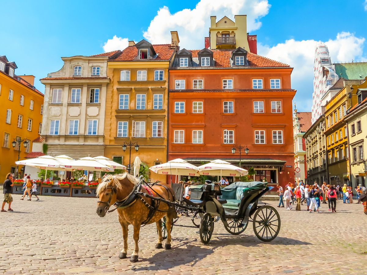 Old Town or Stare Miasto, Warsaw, Poland Photo: Shutterstock