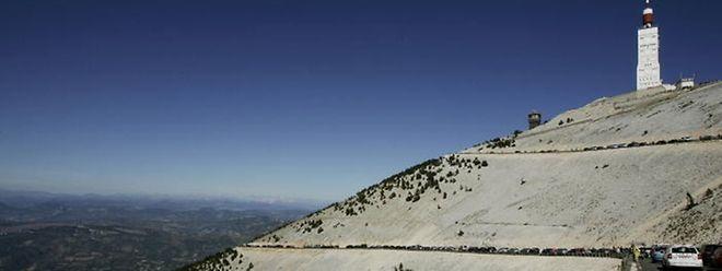 Le Ventoux sera le théâtre d'arrivée de la 12e étape qui s'élancera depuis Montpellier