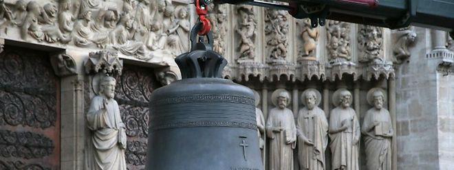 La Grande-Duchesse est marraine du petit bourdon de Notre-Dame de Paris.