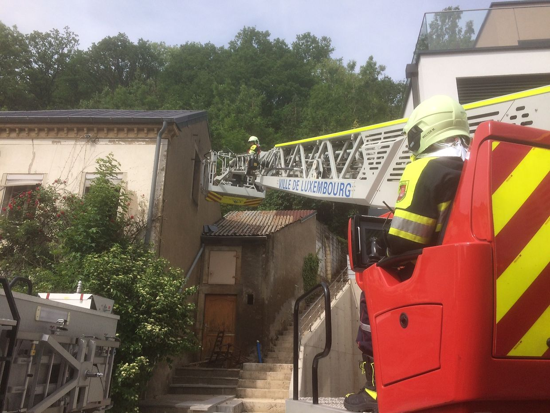 In Weimerskirch war es zu einem Hausbrand gekommen.