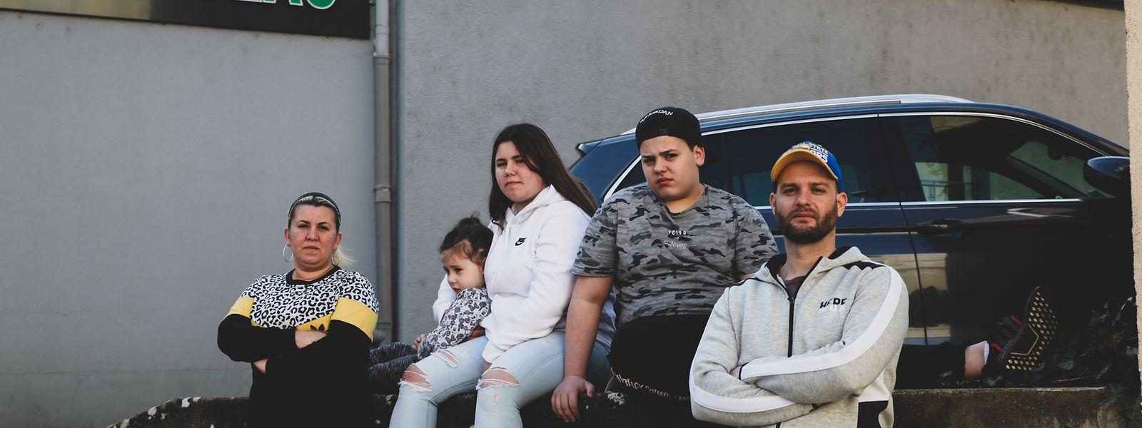 A pandemia fez a família Amaral viver tempos de apuros