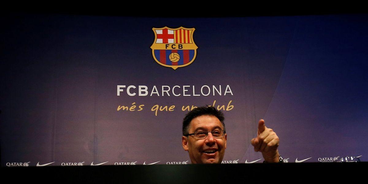 Un millard d'euros de chiffre d'affaires, tel est l'objectif du président du Barça Josep Maria Bartomeu à l'horizon 2021.