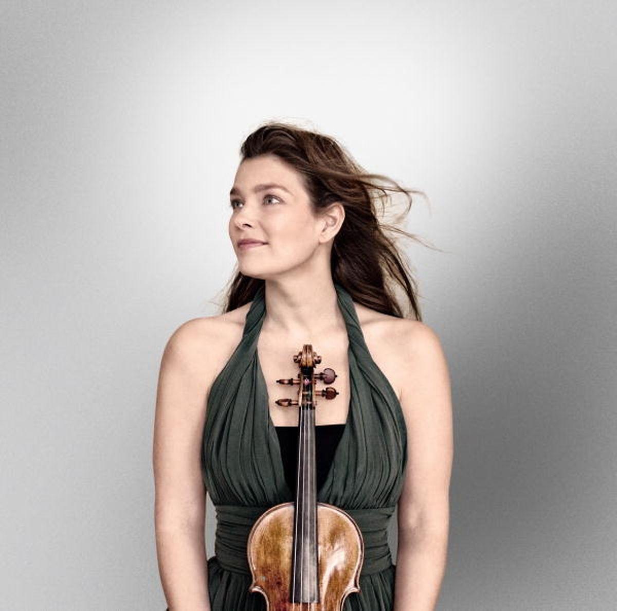 Janine Jansen  en concert avec l'OPL mardi soir à la Philharmonie.
