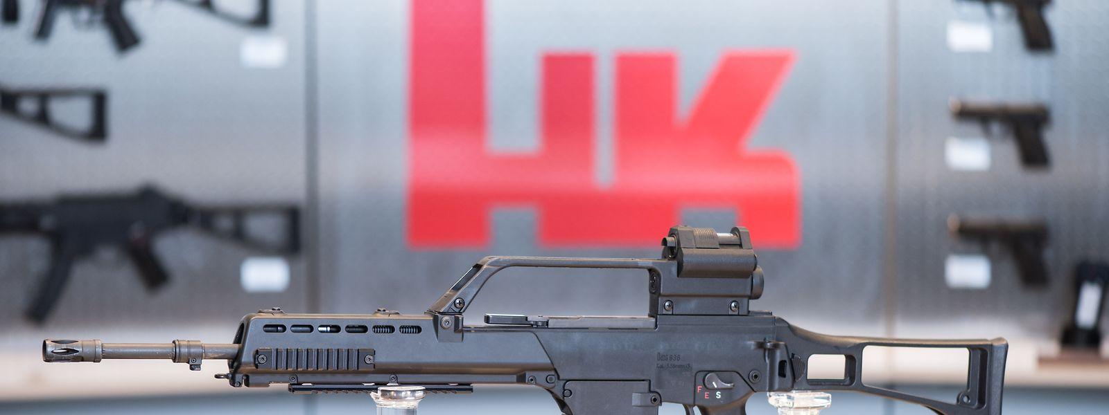 Das Sturmgewehr G36 des Waffenherstellers Heckler & Koch ist die Standard-Langwaffe der Bundeswehr.